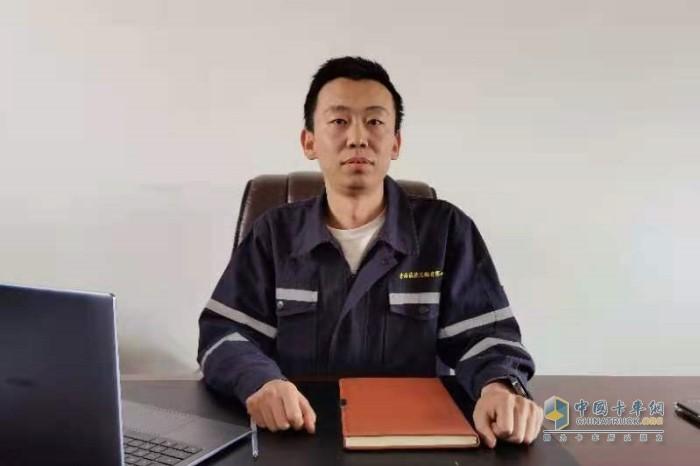 青海诚捷运输公司董事长范承栋(化名)