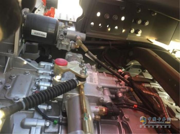 中国重汽16挡变速箱
