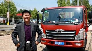 出彩卡车人社群--老司机的幸福源自哪里?领航卡车用户李廷根告诉你