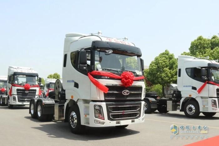华菱汉马H9 LNG牵引车