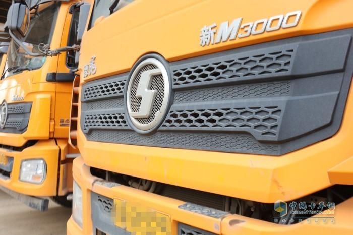 陕汽德龙新M3000自卸车