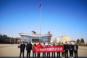 东风天龙晋北市场五一期间获订单36台 小批量开始交付
