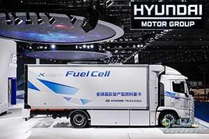 现代汽车氢燃料电池重卡XCIENT Fuel Cell上市 并将逐步向中国等市场推广