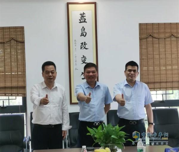 本次活动由海南蓝岛环保产业股份有限公司、上海融和电科融资租赁有限公司和汉马科技集团股份有限公司共同承办