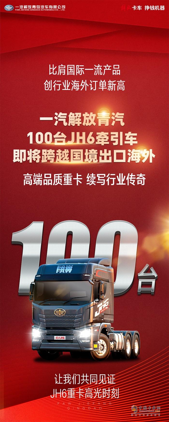100台JH6整装待发
