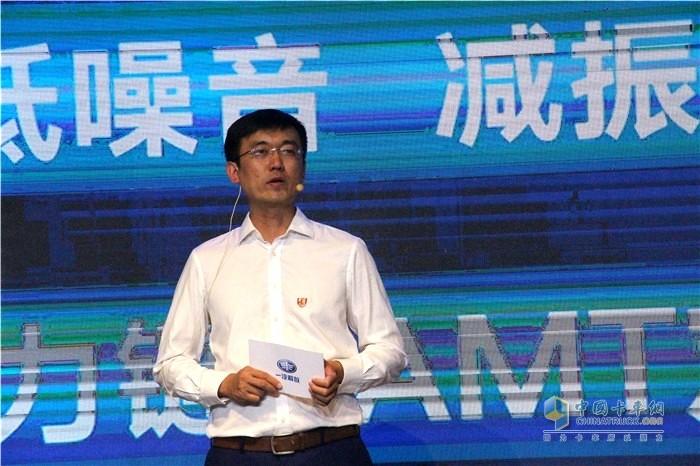 一汽解放商用车开发院研发高级工程师、J7载货总设计师魏涛