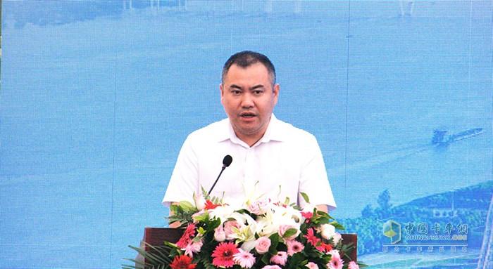 九州通医药集团副总经理、物流总公司总经理张青松先生致辞