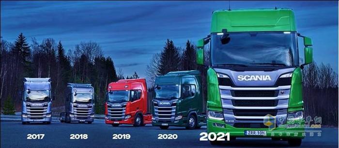 斯堪尼亚连续五年斩获绿色卡车奖的获奖车型