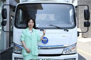 """化身社区蔬菜直通车 福田智蓝新能源保障大众""""菜篮子"""""""