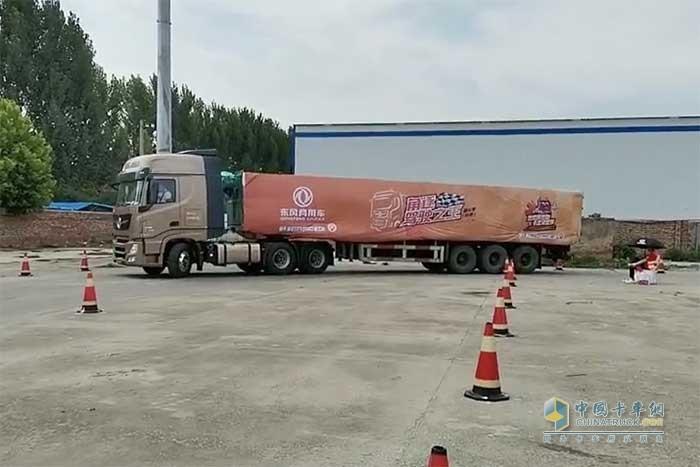 东风天龙中国卡车驾驶员大赛