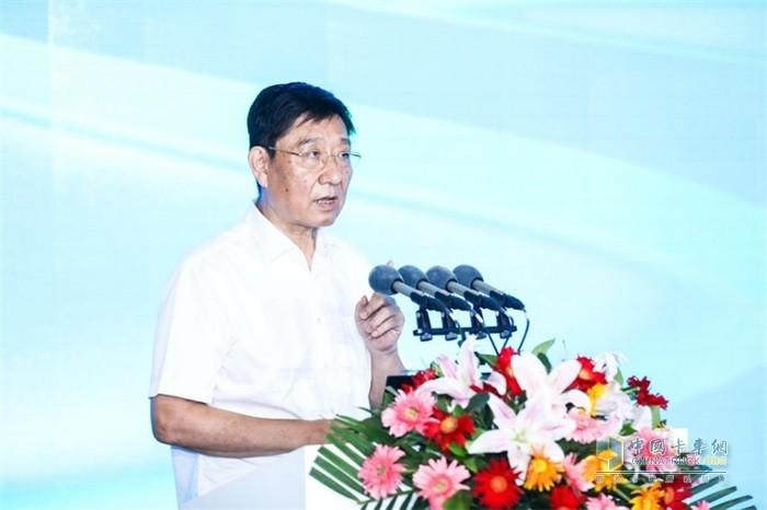中国物流与采购联合会副会长蔡进致辞