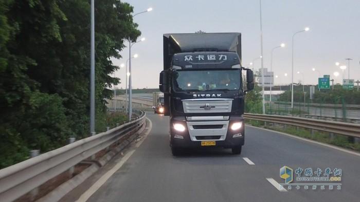 汕德卡G7牵引车