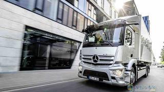 梅赛德斯-奔驰eActros纯电动卡车全球首秀 量产车将率先投放欧洲
