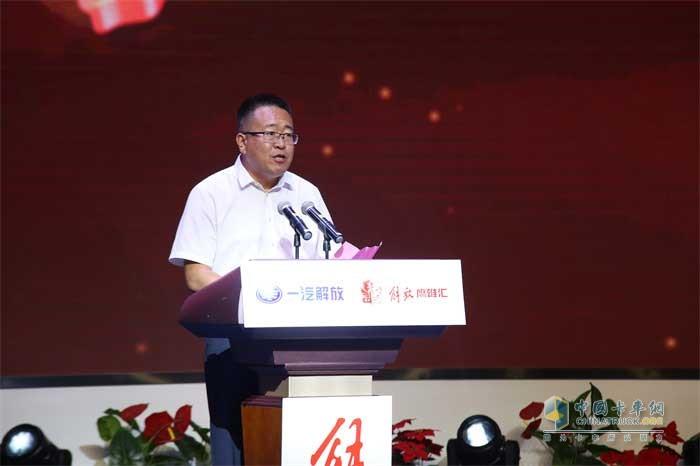 鹰雄汇山东分会会长、山东依航物流有限公司董事长谢涛
