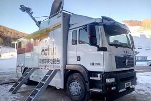 与世界一流品牌车辆并驾齐驱 中国重汽转播车助力奥运会转播报道
