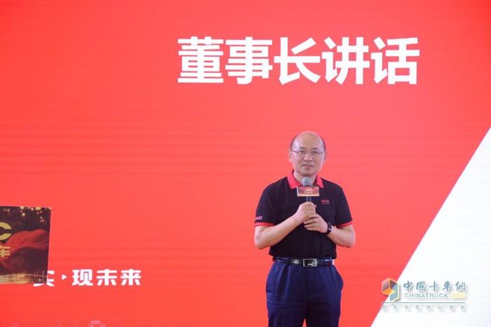 江汽集团控股公司党委书记、董事长项兴初