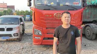 解放JH6重卡成运输主力 杨万河最满意它的油耗