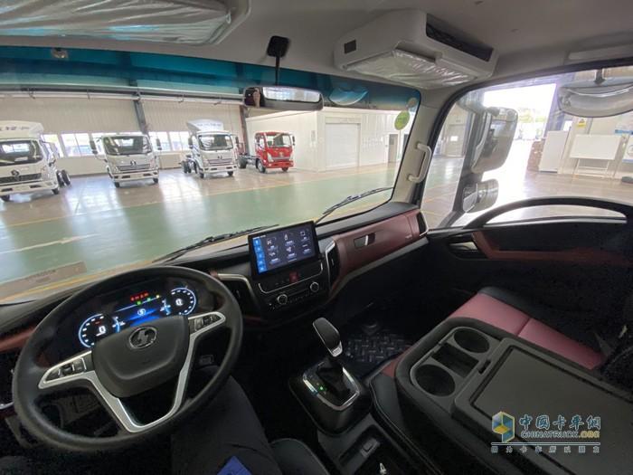 陕汽轻卡K5000驾驶室的配置