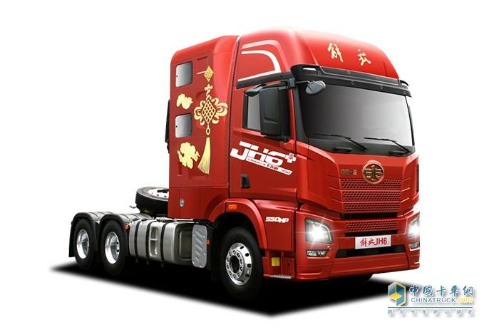 一汽解放青汽,JH6,牵引车