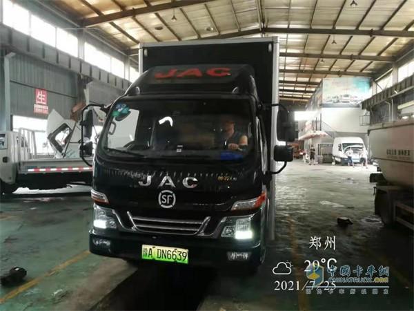 江淮轻卡  载货车