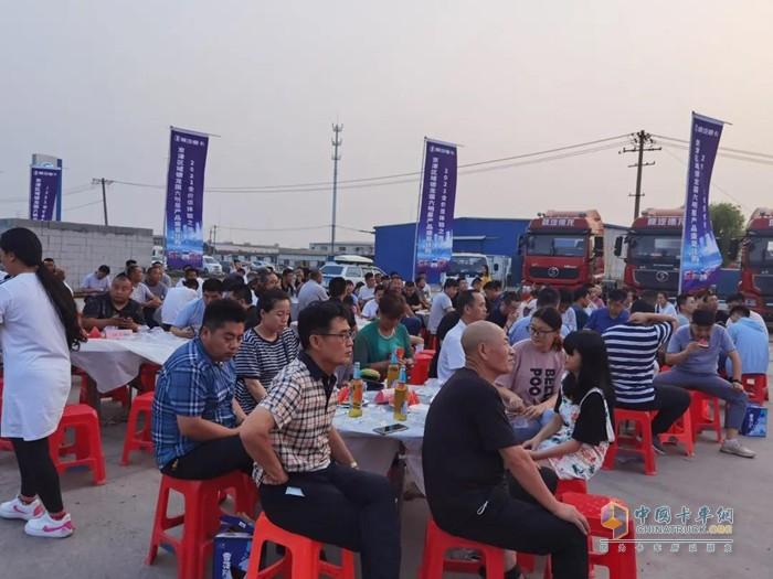 陕汽重卡京津区域德龙国六产品盛夏狂购暨2021全价值体验之旅活动