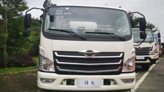 福田领航多款专用车国六产品再次打卡随州