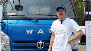 姜连元:奥驰A2非常适合短途运输 已经行驶8万公里无故障
