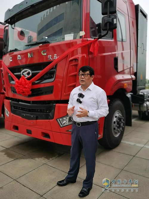 汉马科技,汉马H7,电动牵引车