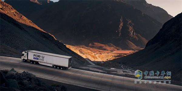 自动驾驶卡车  物流平台