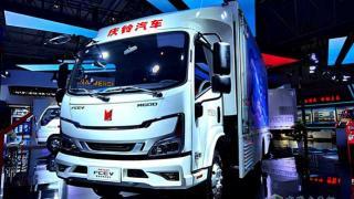 助力双碳目标实现  2021重庆智博会庆铃亮剑氢燃料电池车