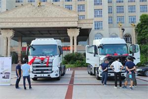 现场下订14台,广汽日野福建瑞龙达700智臻新车品鉴会收官!
