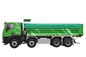 红岩杰狮H6智能渣土车,为你揭开城建渣土运输的秘诀