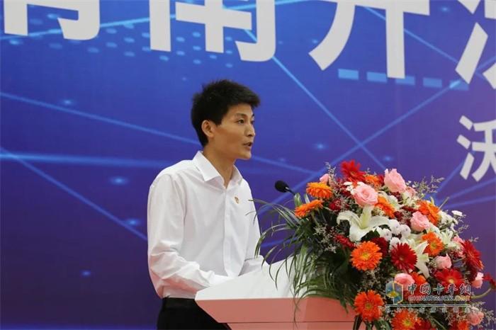 渭南产投集团副总经理刘凯