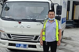 2个月4万公里,江淮骏铃冰博士冷藏车让董师傅很认可