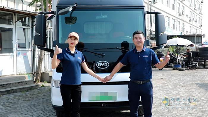 比亚迪,T5D,纯电动,轻卡载货车