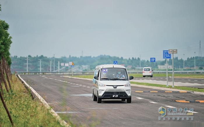 比亚迪V3,中国新能源挑战赛,纯电动,物流车