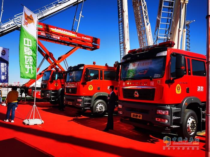 中国重汽产品凭借扎实的制造工艺以及可靠的服务保障,成为市场主流需求