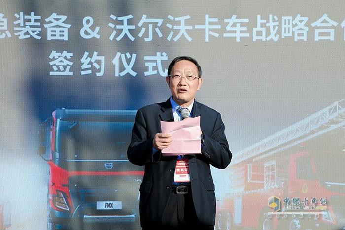 湖南中联重科应急装备有限公司董事长兼总经理李叙炯先生