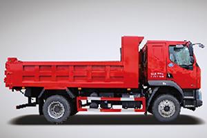 基建狂魔的神兵利器 国六乘龙M3 4×2自卸车