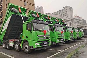 大场面!徐工漢風助力甘肃新能源项目集中开工!