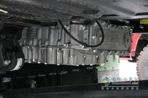 艾里逊自动变速箱配备陕汽赛车成2010全国超级卡车