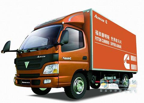 福田货车车头结构图