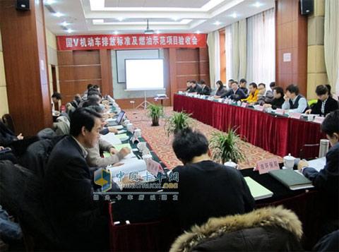 东风朝柴发动机通过北京国五排放认证