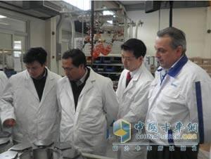 越南用户参加泰乐玛电涡流缓速器工厂