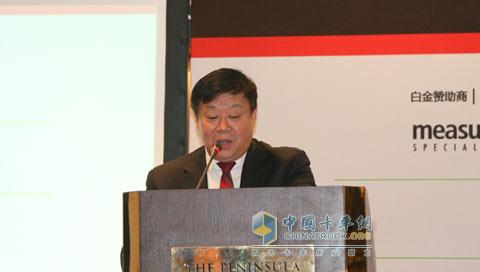 中国内燃机工业协会常务副理事长兼秘书长邢敏