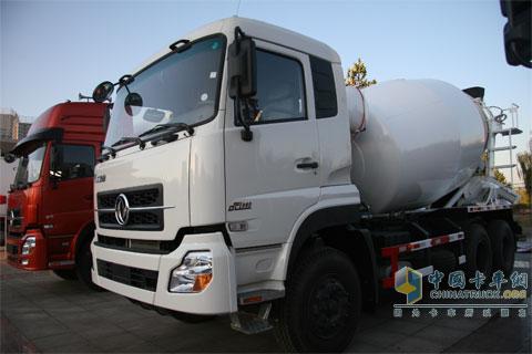 东风大力神搅拌车系列-新闻图片-中国卡车网[www.org