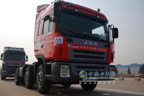 江淮格尔发重卡参与测评 - 2012年图片 - 中国卡车网