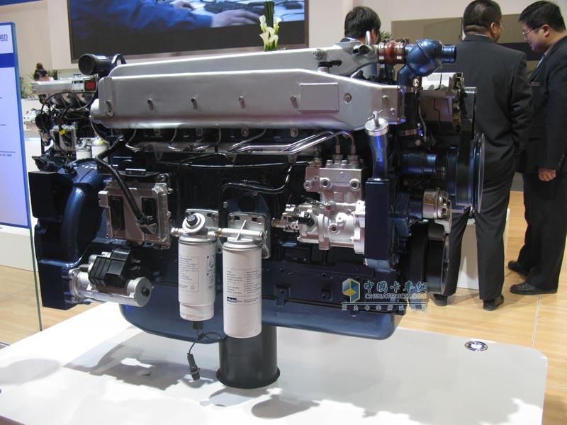 潍柴wp10产品; 六缸潍柴发动机图片;