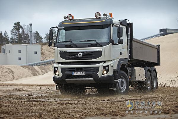 沃尔沃重型_【图】沃尔沃FMX自卸车即将亮相北京车展_新闻图片_中国卡车网