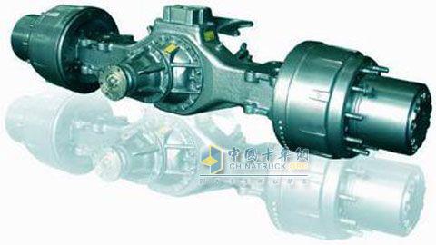 中国重汽STR双级减速重型驱动桥